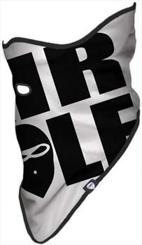 Airhole BIGLOGO Snowboard Face Mask L/XL   Mens / Unisex White